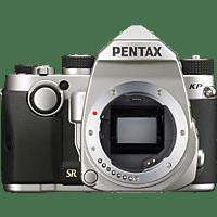 PENTAX 16037 KP Spiegelreflexkamera, Full HD, HD, WLAN, Silber