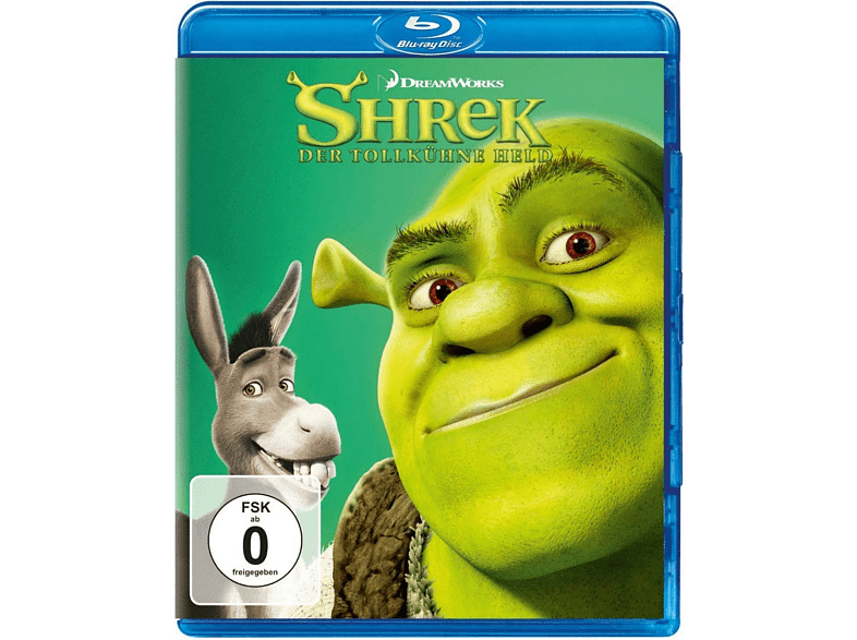Shrek-Der tollkühne Held [Blu-ray]
