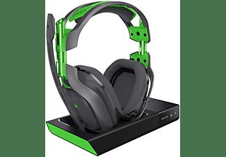 Auriculares Gaming - Astro A50 y estación base para Xbox One, Gris y Verde
