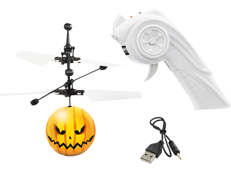 REVELL Copter Ball Glow Pumpkin RC Helicopter, Mehrfarbig