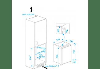 BEKO B1751 Kühlschrank (176 kWh/Jahr, A+, 860 mm hoch, Weiß)