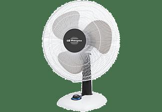 Ventilador de sobremesa - Orbegozo TF 0133 Potencia 40W, 3 Velocidades, Función oscilación
