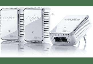 Adaptador PLC - Devolo 9613 dLAN 500 Duo Network Kit ES, 500Mbps