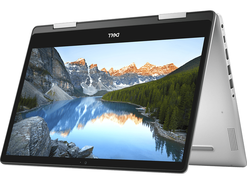 DELL Inspiron 14 5482, Convertible mit 14 Zoll Display, Core™ i5 Prozessor, 8 GB RAM, 256 GB SSD, GeForce® MX130, Silber