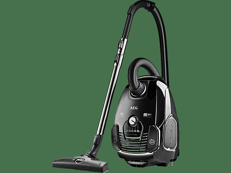 AEG VX7-2-ÖKO (mit Beutel, Hygiene Filter™ E12, Schwarz)