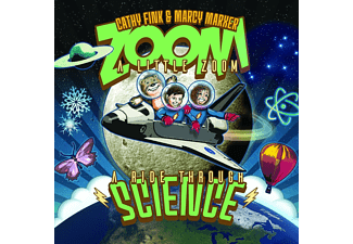 Cathy & Marcy Marxe Fink - ZOOM A LITTLE ZOOM: A RIDE THROUGH SCIENCE  - (CD)