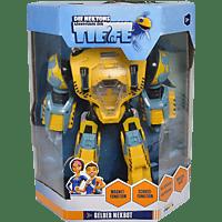 SIMBA TOYS Die Nektons, Gelber Nekbot, vollbeweglich Roboter, Mehrfarbig