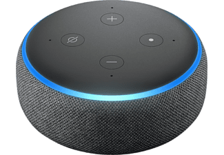 AMAZON Echo Dot 3. Generation - Smart Speaker (Anthrazit)