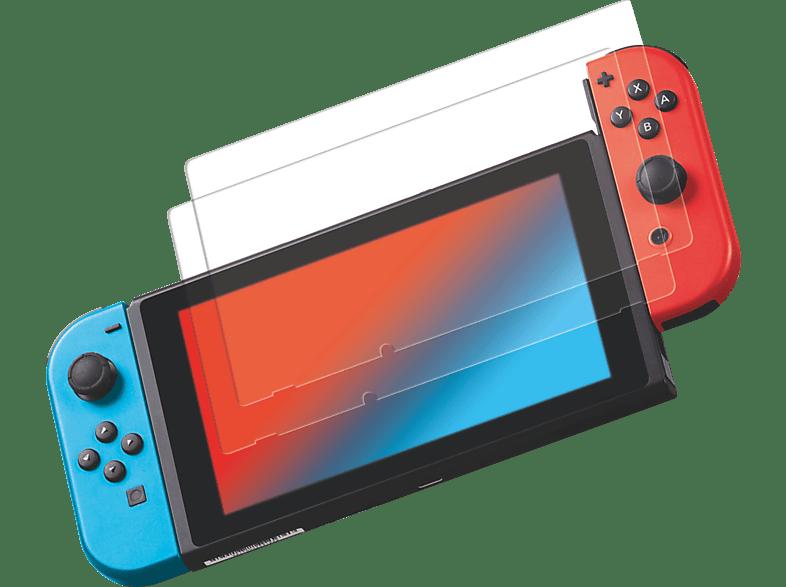 ISY IC-5004 2-Pack Nintendo Switch Schutzglas, Transparent
