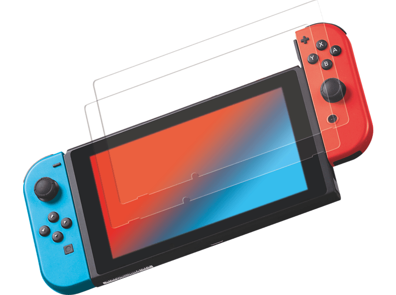 ISY 2-Pack Nintendo Switch Schutzglas
