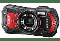 RICOH WG-60 Kit Digitalkamera Rot, 16 Megapixel, 5-fach opt. Zoom, TFT Farb-LCD
