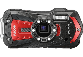 RICOH WG-60 Kit Digitalkamera Rot, 5-fach opt. Zoom, TFT Farb-LCD