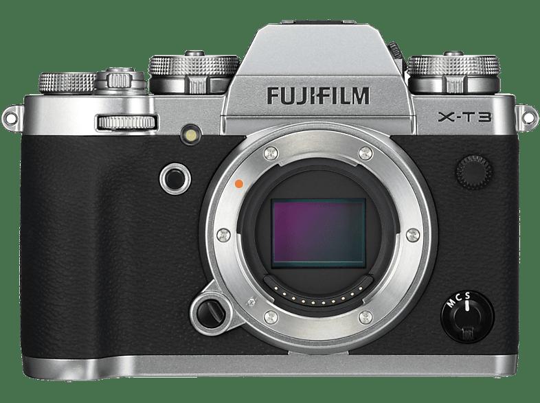 FUJI Hybride camera X-T3 Zilver Body (D10903-S)