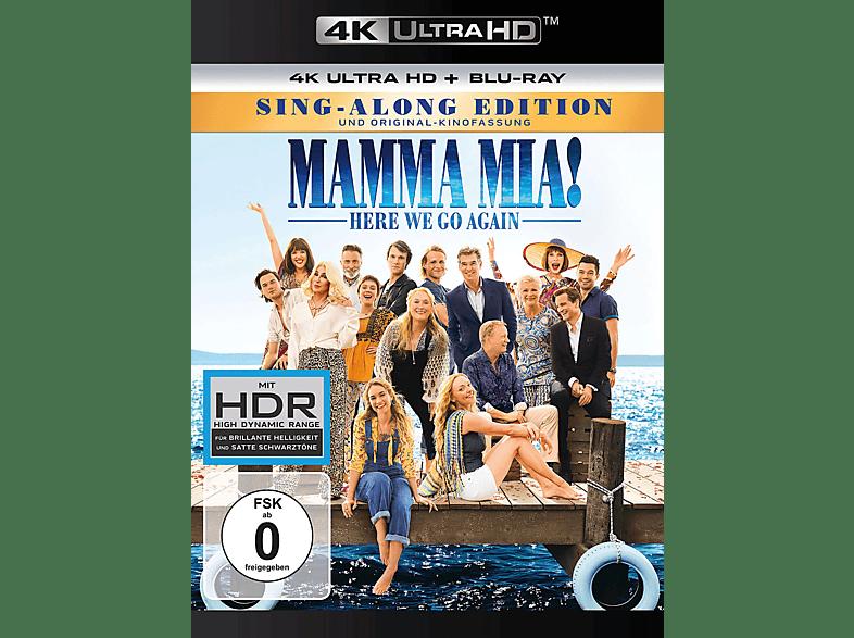 Mamma Mia! Here we go again [4K Ultra HD Blu-ray + Blu-ray]