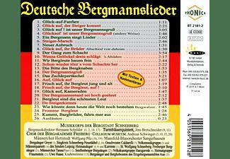 Musikkorps der Bergstadt Schneeberg u.v.a. - Deutsche Bergmannslieder  - (CD + Merchandising)