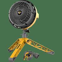 VORNADO 701684 EXO5 Heavy Duty Standventilator Gelb/Grau/Schwarz (35 Watt)