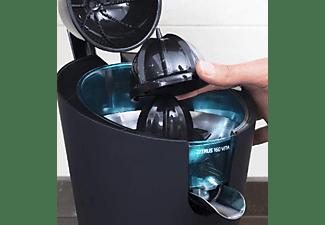 Exprimidor - Cecotec ZITRUS 160 Vita Black, 160 W, Antigoteo, De brazo, 2 filtros, 2 conos, Negro