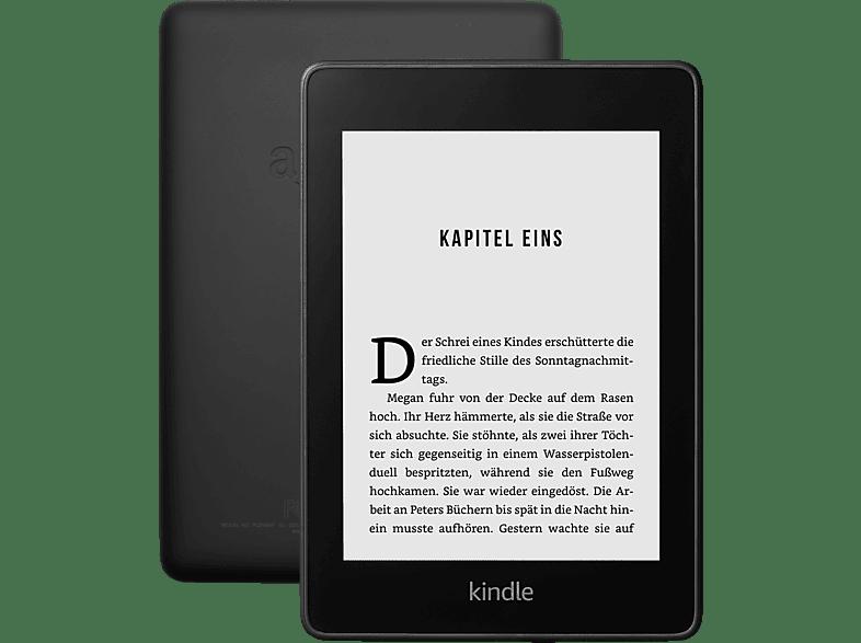 KINDLE PAPERWHITE - jetzt wasserfest - 32GB (mit Spezialangeboten)  32 GB WLAN und USB eBook Reader Schwarz