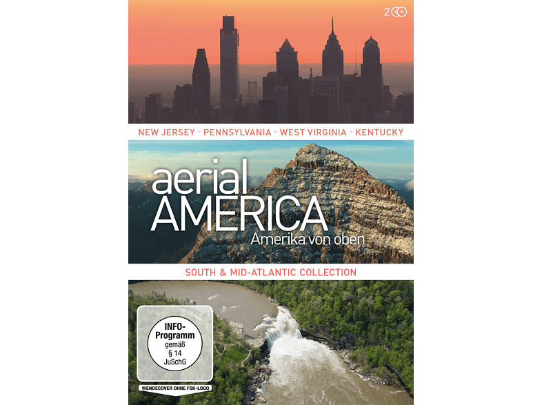 Aerial America - South and Mid-Atlantic Collection [DVD]