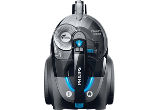 PHILIPS FC 9741/09 PowerPro Expert Staubsauger, maximale Leistung: 900 Watt, Schwarz)