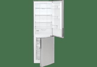 BOMANN KG 7303 Kühlgefrierkombination, 197 kWh/Jahr, 1700 mm hoch, Edelstahl)