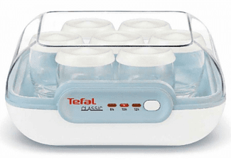 Robot para postres - Tefal YG100111 CLASSIC Potencia 13W,Capacidad para 7 yogures, Incorpora 7