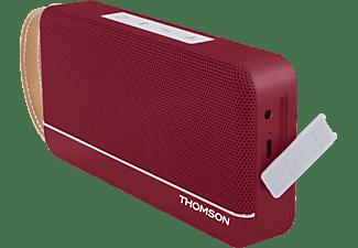 THOMSON WS02 RETRO Lautsprecher, Rot