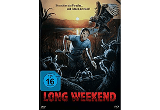 LONG WEEKEND (1978) (MEDIABOOK A/+DVD) Blu-ray + DVD