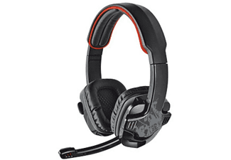 Auriculares con cable - Trust GXT 340, diadema, color negro