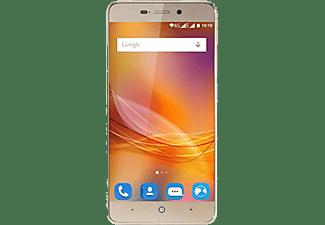 "Móvil - ZTE Blade A452, 8GB, pantalla HD 5"", red 4G, dorado"