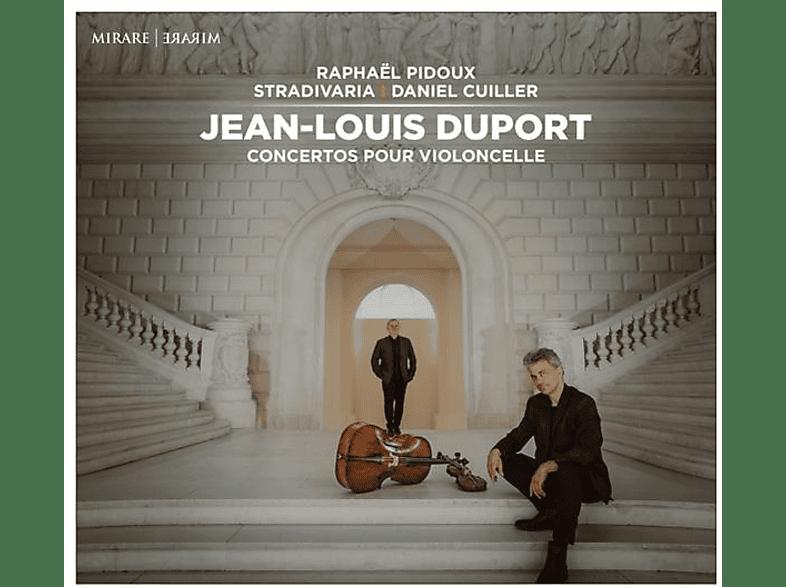 Daniel Cuiller, Raphael Pidoux, Stradivaria - Conertos Pour Violoncelle [CD]
