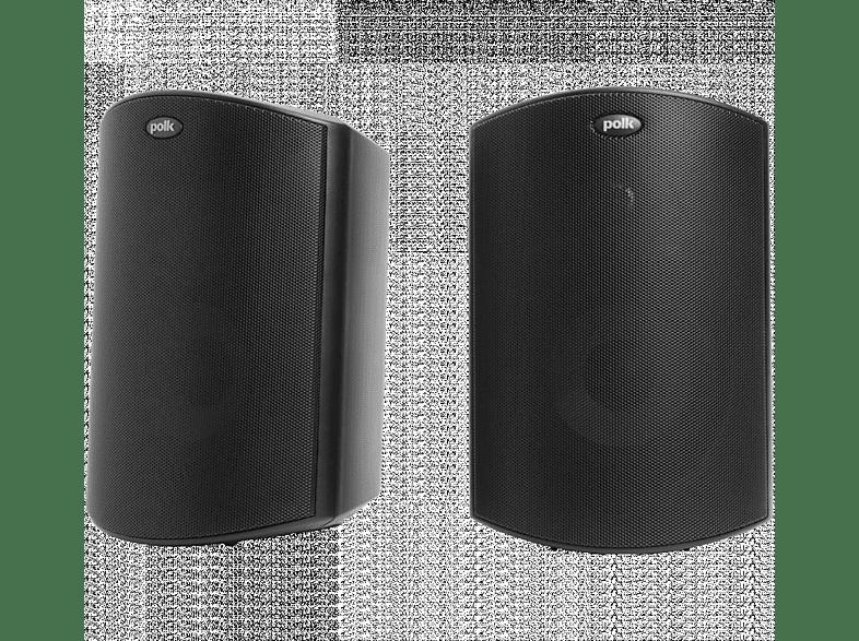 POLK AUDIO Atrium 5 1 Paar Outdoor Lautsprecher (Schwarz)