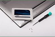 CRUCIAL MX500, 1 TB SSD, Interner Speicher, 2.5 Zoll, intern