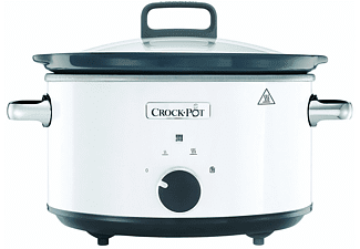 Olla de cocción lenta - CrockPot CSC030X, 3.5 L, 1000 W, 2 temperaturas, Función mantener caliente