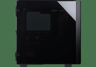 CORSAIR PC Gehäuse Corsair Obsidian 500D, schwarz, Glasfenster (CC-9011116-WW)