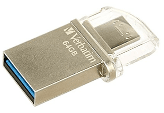 Memoria USB - Verbatim 49827 OTG USB 3.0 64GB MICRO DRIVE