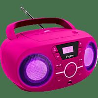BIGBEN CD61 CD Player Pink