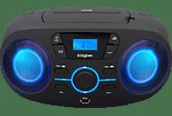 BIGBEN CD61 Radiorecorder, Schwarz