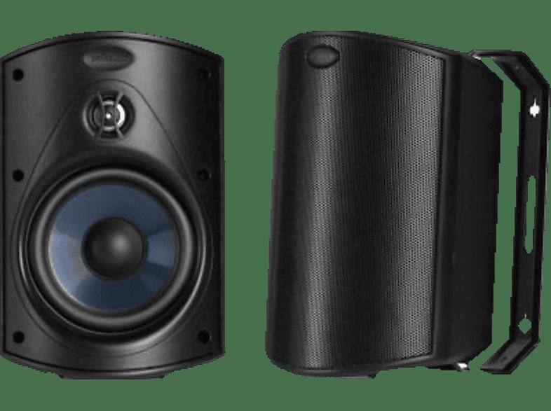 POLK AUDIO Atrium 4 1 Paar Outdoor-Lautsprecher (Schwarz)