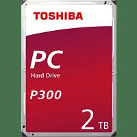 TOSHIBA P300, 2 TB HDD, 3.5 Zoll, intern