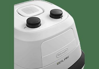 DELONGHI IdealFry FH2101 Heißluftfritteuse 1400 Watt Weiß