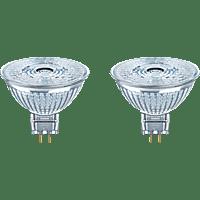 OSRAM OS38821 ST MR16 35 36 4,6W/827 12V GU5.3 BLI2 LED-Leuchtmittel GU5.3 Warm White 4.6 Watt 350 lm