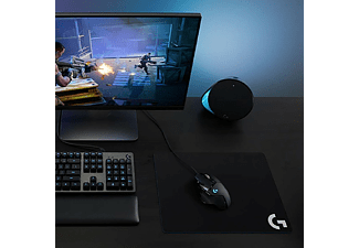 Ratón gaming - Logitech G502 Hero, Puerto USB, Pesas opcionales, Respuesta 1000 Hz, Negro