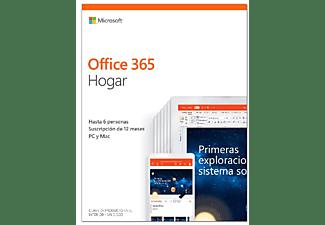 Microsoft Office 365 Hogar, para PC y Mac, Suscripción 1 año