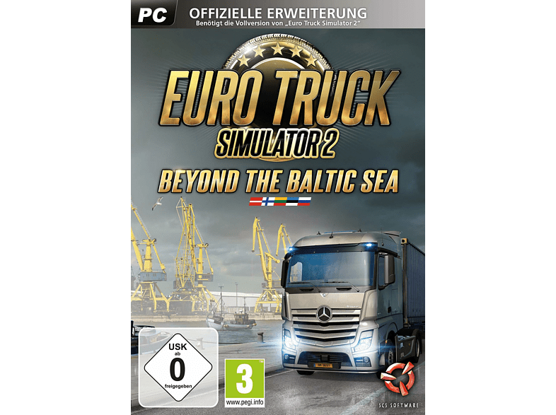 Euro Truck Simulator 2: Beyond the Baltic Sea DLC [PC]
