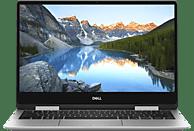 DELL Inspiron 13 7386, Convertible mit 13.3 Zoll Display, Core™ i5 Prozessor, 8 GB RAM, 256 GB SSD, Intel® UHD-Grafik 620, Platin/Silber