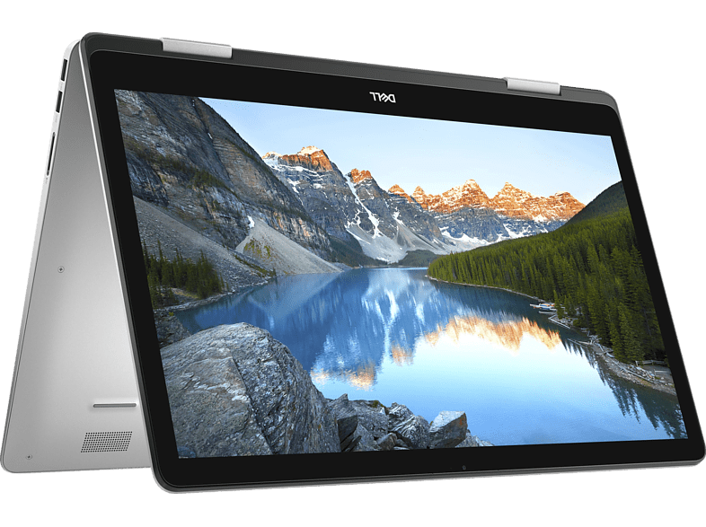 DELL Inspiron 17 7786, Convertible mit 17.3 Zoll Display, Core™ i7 Prozessor, 16 GB RAM, 512 GB SSD, GeForce® MX150, Silber