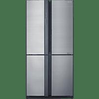 SHARP SJ-EX770FSL  French Door (370 kWh/Jahr, A++, 1720 mm hoch, Edelstahl)