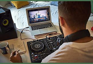 Controladora DJ - Hercules DJ Control Inpulse 300, 16 pads, 8 modos, Jog wheels grandes