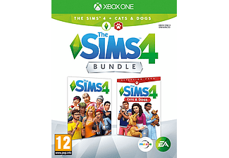 Xbox One - The Sims 4 + Cats & Dogs Bundle /E